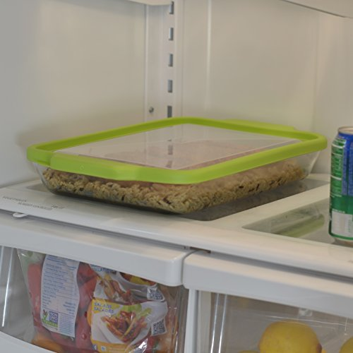 Anchor Hocking 3-Quart Glass Baking Dish with Green TrueFit Lid by Anchor Hocking (Image #5)