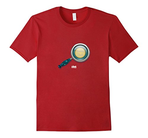 Men's Nancy Drew: Amateur Sleuth XL Cranberry