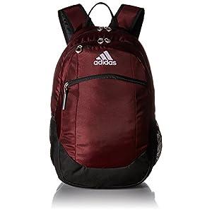 adidas Unisex Striker II Team Backpack, Maroon/Black/White, One Size