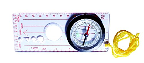 SEOH Field Orienting Map Compass 45mm with Base
