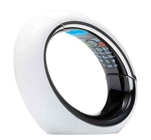 AEG ECLIPSE 15 schnurloses DECT-Telefon mit Anrufbeantworter weiß