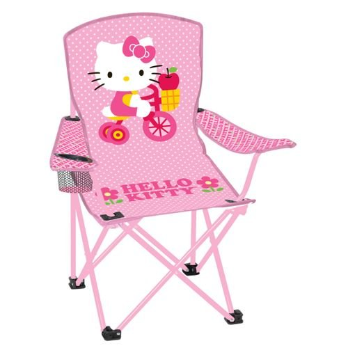 Folding Camp Arm-Chair for Kids, Hello Kitty
