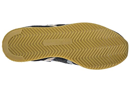 Philippe Model Scarpe Sneakers Donna Nuove Originale Etoile Tropical Birds Blu
