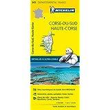 Carte Corse-du-Sud, Haute-Corse Michelin