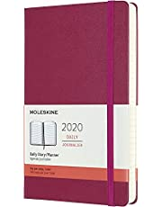 Moleskine - 2020 Hard Cover Diary - Daily - Large - Snappy Pink