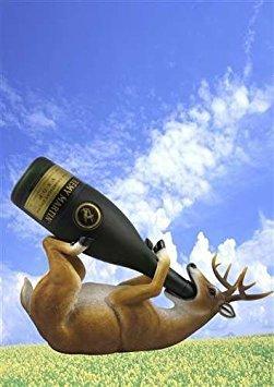 - DWK Corporation DWKHD30976 Deer Wine Holder