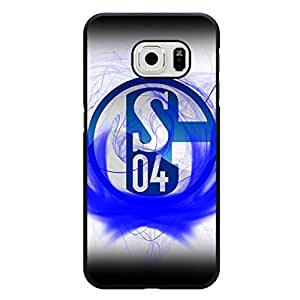 Samsung Galaxy S6 Edge Schalke 04 Football Club Phone Case,Creative Beauty Gelsenkirchen-Schalke 04 Logo Hard Delicate Protective Case Cover