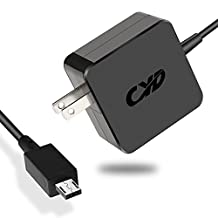 Cyd 24w 12v 2a power-fast-laptop-charger for asus-chromebook-c201 c201p c201pa chromebook-flip c100 c100p c100pa-db02 p-n adp-24ew b, extra 8.2 ft ac-adapter-power-cord
