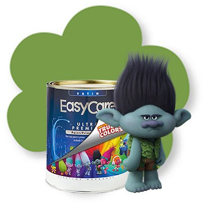 Branch Out Green Troll Interior Paint/Primer