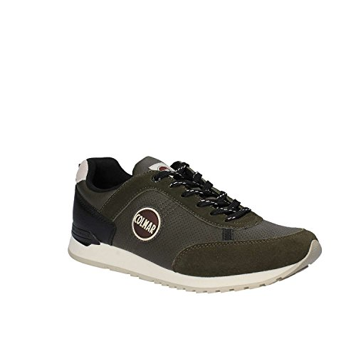 023 Verde Nero Turnschuhe Black TRAVISD023BLACK Drill COLMAR Travis AqY1EE