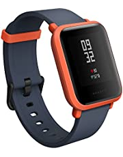 Amazfit Bip GPS Sports Smart Watch, Cinnabar Red