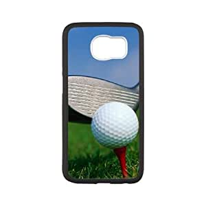 Samsung Galaxy s6 Black Cell Phone Case HUBYLW0058 Golf 3D Hard Phone Case Cover