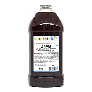 Juice Burst Apple 100% Juice Concentrate - No Artificial Color Added - OU Kosher Certified - Ideal for Daycare Schools Cafeterias Churches 64 Oz