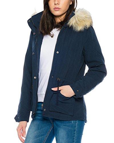 Otw Cc Aw Onlstarlight Bleu Parka Only Fur Femme qFXf6w
