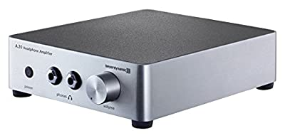 Beyerdynamic A20 Headphone Amplifier - Silver by Beyerdynamic, Inc.