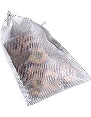 "TamBee 100 Pack Disposable Tea Filter Bags Tea infusers 4"" x 6"" Empty Muslin Drawstring Seal Filter Tea Bags Drawstring Herb Loose Tea Bag(4"" x 6"" /10 x 15cm)"