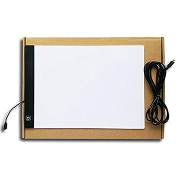 LHZ A4 Ultra-Slim Copy Tracing Caja De Luz/LED Con 3 Niveles De Brillo Ajustable Con Cable USB Para Artistas, Dibujo Y Bocetos: Amazon.es: Deportes y aire ...