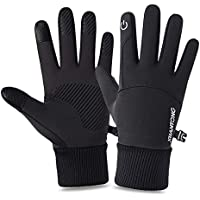 Outdoor Sports Gloves Touch Screen Men Driving Motorcycle Snowboard Gloves Non-slip Ski Gloves Warm Fleece Gloves for…