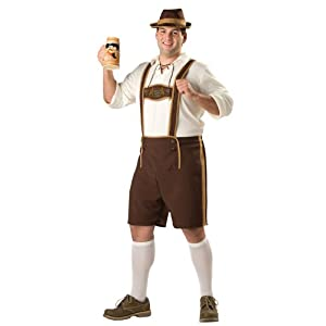 InCharacter Bavarian Guy Plus Size Costume
