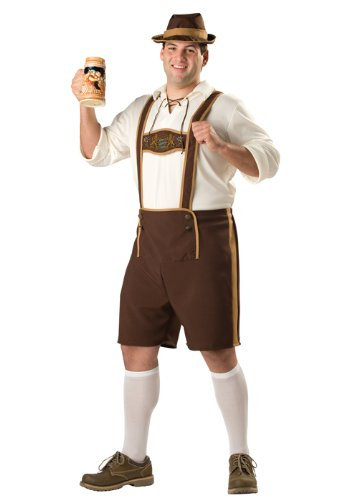 3 Guys Halloween Costumes (InCharacter Bavarian Guy Plus Size Costume)