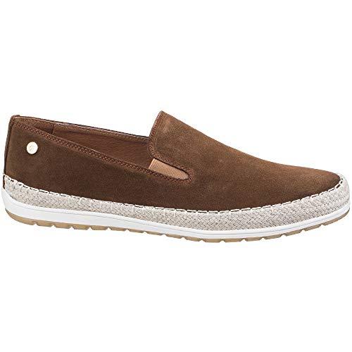 Ryder Slip Espadrille Suede Cognac Shoes Casual Gabicci On Mens vfC5fwq