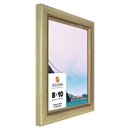 craig-frames-2231100-24-by-24-inch-picture-frame-smooth-wrap-finish-125-inch-wide-vintage-gold
