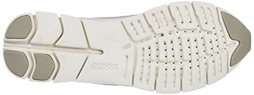 D Mujer a Grey Gris Zapatillas para Geox Lt Sukie Zw4nqfqSA