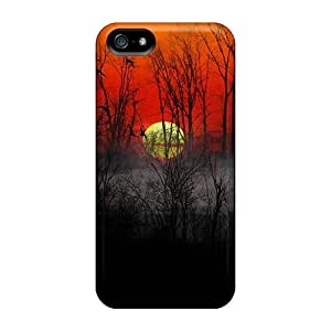 Durable Case For The Iphone 5/5s- Eco-friendly Retail Packaging(river Sunset Fog)