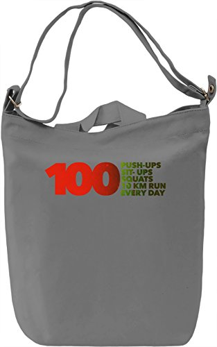 One Punch Man Regimen Borsa Giornaliera Canvas Canvas Day Bag| 100% Premium Cotton Canvas| DTG Printing|
