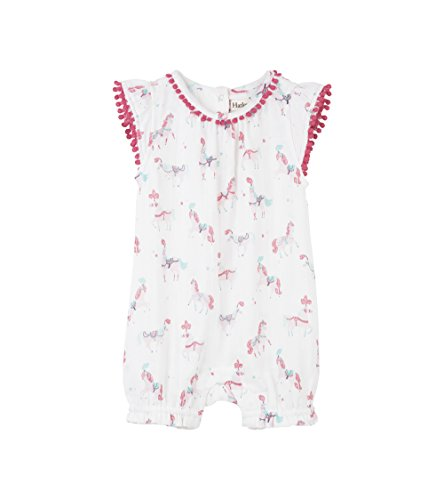 - Hatley Baby Girls Mini Rompers, Parade Horses, 6-9 Months