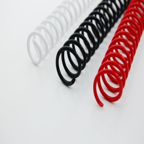 A9665928 Nero GBC Spirali color coil 12mm 100pz