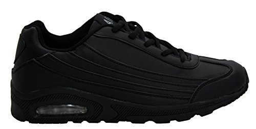 Lace Gym Noir Up Tech Fitness 12 Hommes Chaussures Baskets Running 7 Sneakers Sports Shock Uk Air Tailles Absorbant tzTtEw