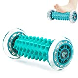 Foot Massage Roller, Foot and Hand Massager Relax Foot Back Leg Hand Tight Muscle for Plantar Fasciitis, Heel & Foot Arch Pain Massager Relief Stress and Relaxation, Through Trigger Point Therapy