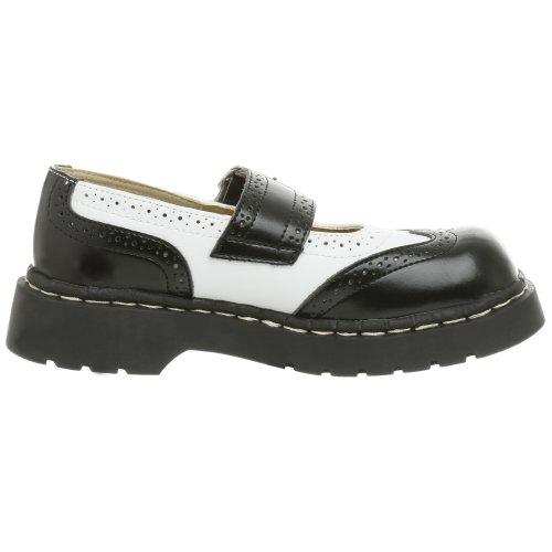 Femme amp; Shoes Fermé Bout black Noir Tuk White vtqzY