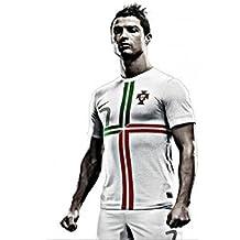 Custom Poster Nice Bedroom Decor Fashion Well Design CR Soccer Portugal Football Wallpaper 50x76cm