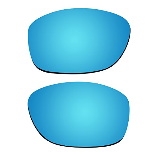 Replacement Polarized Lenses for Oakley Pit Bull Sunglasses (Ice Blue - Sunglasses Bull Pit