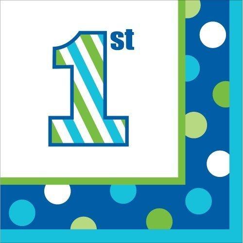 1st Birthday Napkins - 5