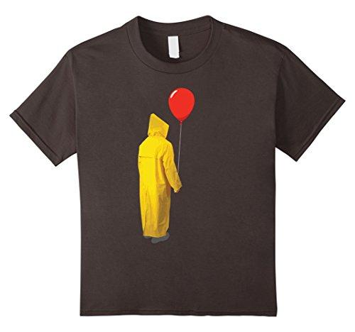 Kids TERRIFYING Red Balloon for Halloween T-Shirt 10 Asphalt