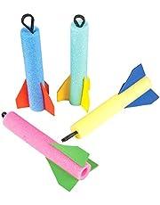 Rhode Island Novelty Foam Finger Flyer Rocket (Pack of 12)