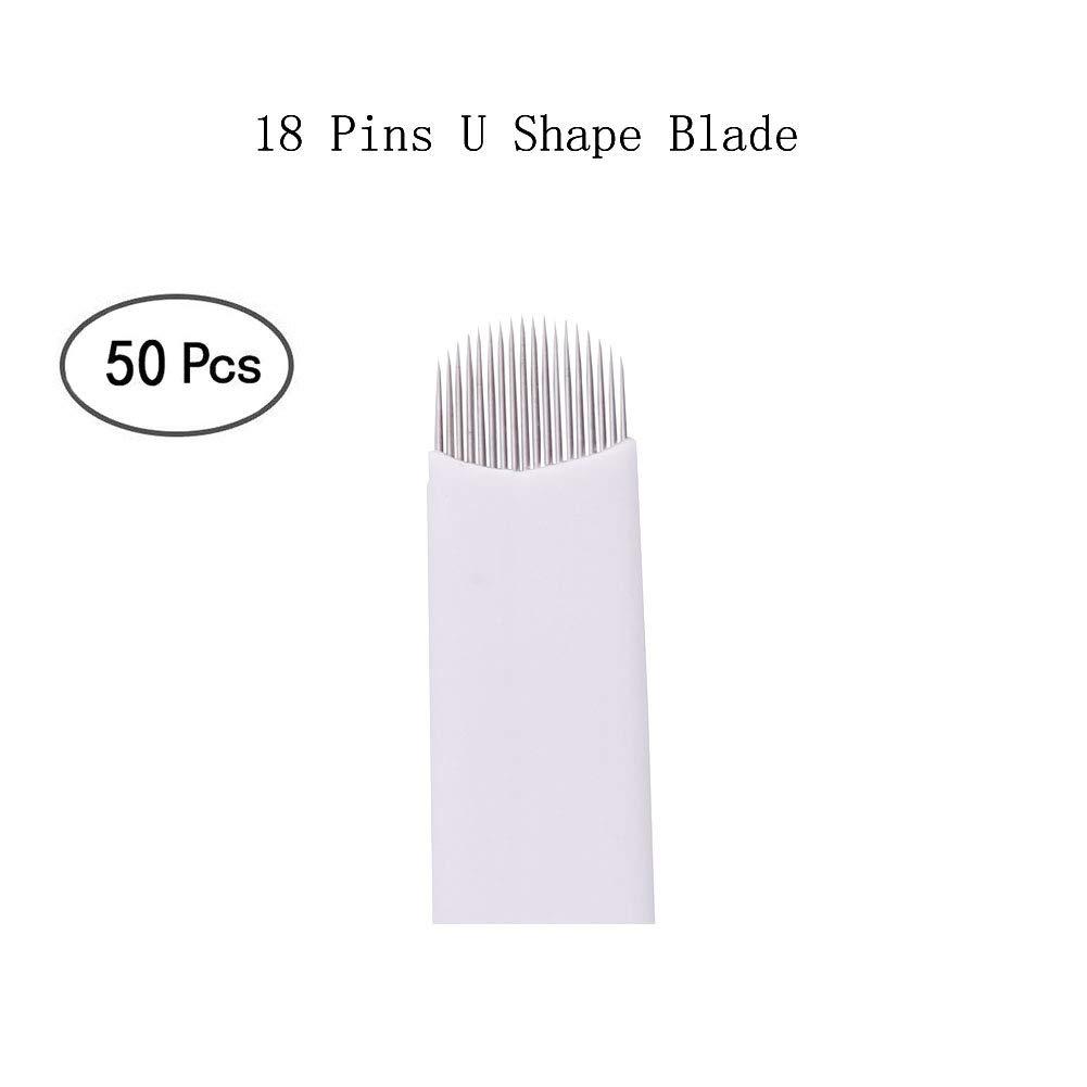 BIOMASER® Microblading Agujas de Maquillaje Permanente Manual de ...