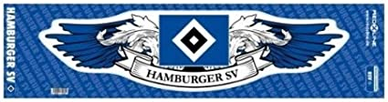 Brauns Hamburger Sv Autoaufkleber Wings Blau 29211 Sport Freizeit