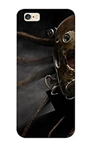 Runandjump Brand New Defender Case For Iphone 6 Plus (fantasy Sci Fi Dark Warrior Cyborg Mask Tech Mech Art ) / Christmas's Gift