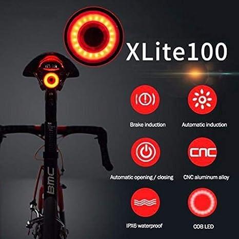Dewanxin Luz de Cola para Bicicleta Inteligente Ultra Brillante ...