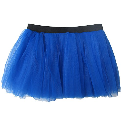 So Sydney Running Skirt - Teen or Adult Size Princess Costume Ballet or Race Tutu (Royal Blue)]()