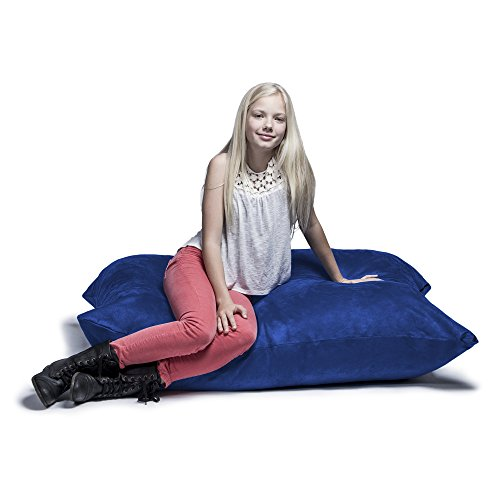 Jaxx 3.5 ft Pillow Saxx Kids Bean Bag, Blueberry