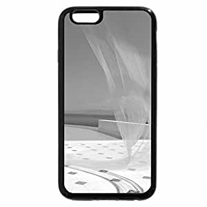 iPhone 6S Plus Case, iPhone 6 Plus Case (Black & White) - Summer Time