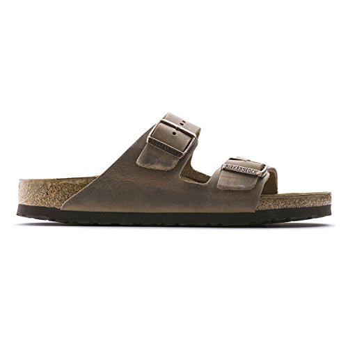 Birkenstock Men's Arizona 2-Strap Cork Footbed Sandal Tobacco 44 M EU by Birkenstock