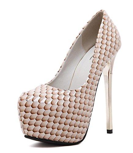 MNII Frauen Stiletto Diamante Party Abend Gericht Schuhe High Heel Plattformen Schuhe- Modeschuhe Color