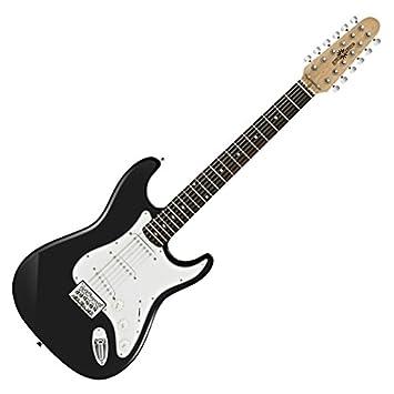 Guitarra Eléctrica LA Deluxe de 12 Cuerdas de Gear4music: Amazon.es ...