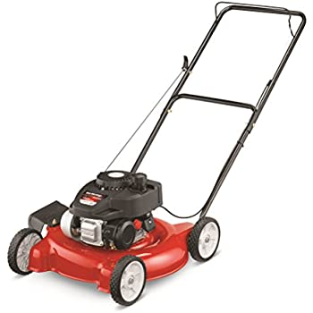 Amazon Com Yard Machines 140cc 20 Inch Push Mower